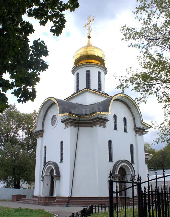Церковь на Кузьминское кладбище