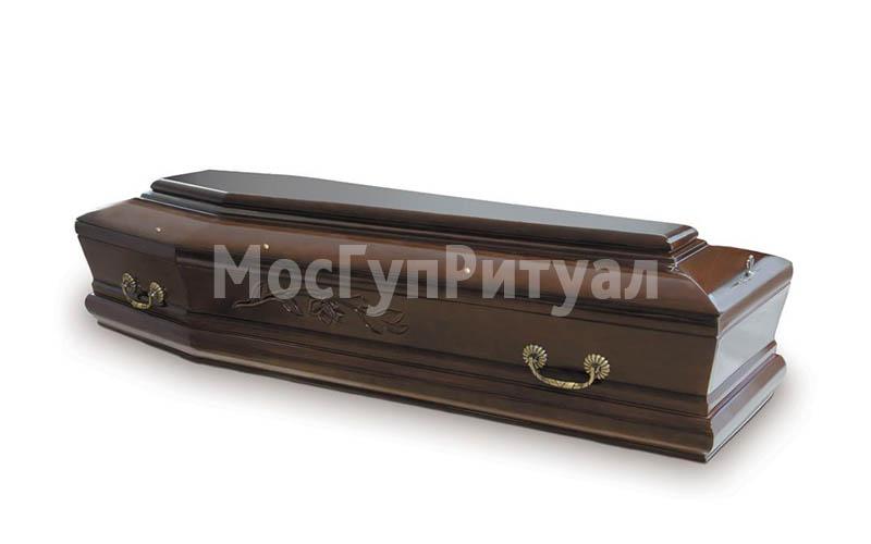 Гроб лакированный №10