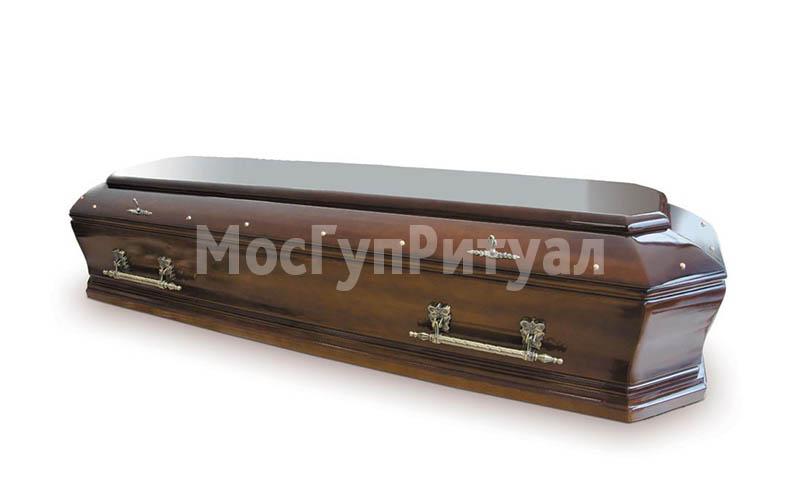 Гроб лакированный №14
