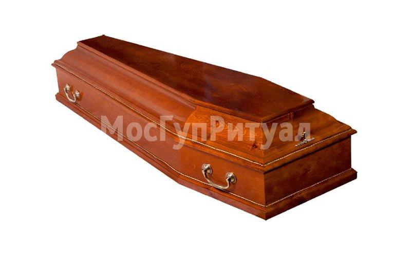 Гроб лакированный №06